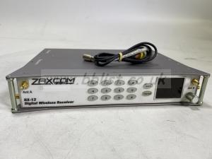 Zaxcom RX-12 Wideband Digital Wireless Receiver + 6 x QRX212