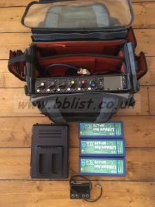 Sound Devices 664 with power and bag