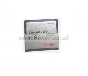 Sandisk SDCFSP-128G-G46D 128GB 525MB/s Extreme Pro CFast 2.0