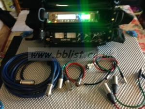 SQN Portable Sound Mixer SQN-4 Mini /KTSystem Bags  / Cables