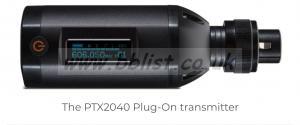 audio ltd PTX2040 Plug-On transmitter