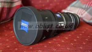 Zeiss 21-100 T2.9-3.9 EF mount lens