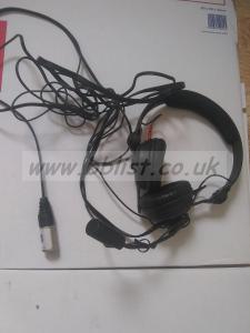 Sennheiser HMD-25 Headphones plus mic
