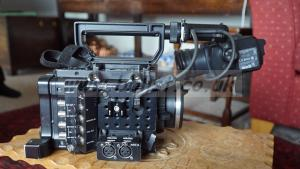 Sony PMW F5 and DVF-L350 Viewfinder
