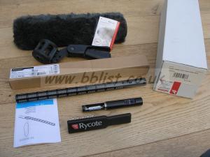 New Sennheiser K6/ME67/Rycote Microphone Kit