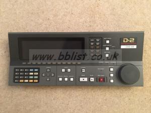 Sony BKDV-101 D2 control panel
