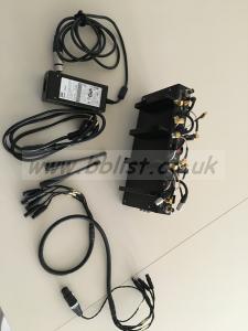RX rack audiowireless - 5xAWDR-15HR4)