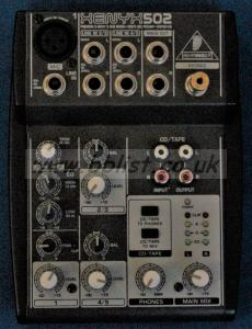Behringer XENYX 502 Mixer Used
