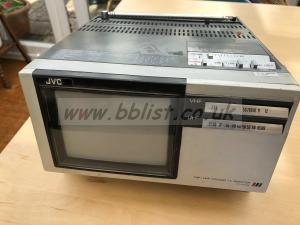 JVC CX-610GB 6 inch portable battery/mains video monitor