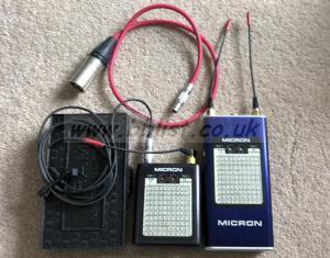 Micron Audio Ch38 TX700 SDR770 Radio Mic Set
