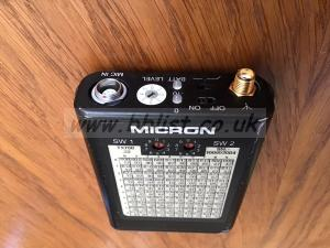 Micron Audio TX700 Radio Mic Transmitter Channel 38