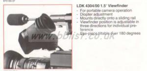 BTS LDK 4304/00 Viewfinder