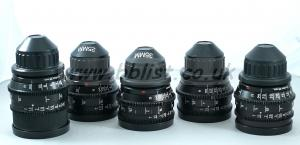 Zeiss Mk3 Super Speed Lens Set