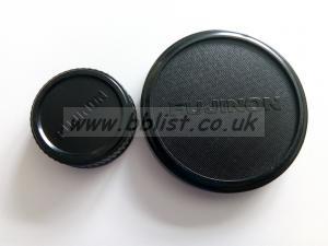 Fujinon Lens Caps - 100mm cap & B4 cap