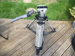 Libec Vision 3 tripod with ENG lens controller