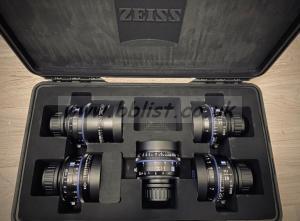 Carl Zeiss CP3 T2.1 Feet Lens Set, 25/28/35/50/100mm