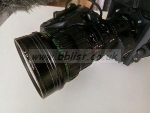 "Fujinon Lens A15x8BEVM-G26 2/3"" Aspheric & IF"