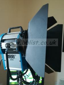 Arrilite 2000w fresnel manual operated light