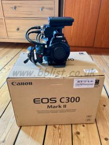 Canon C300 Mk 11 used, Canon UK warranty, excellent conditio