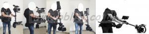 STEADICAM MOVCAM-SKL W/GYROSCOPE DOUBLE ARM 6 SPRINGS, SLED,