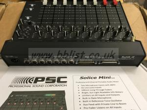 PSC Solice 8 channel analogue Mini Mixer