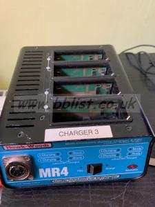 Hawkwoods MR4 4 bay charger