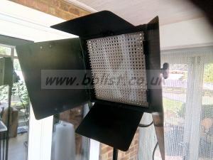 LitePanels 1x1 LED Bi-Color Dimmable Studio Light