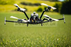 Custom, ready to fly Vulcan UAV mega quad drone