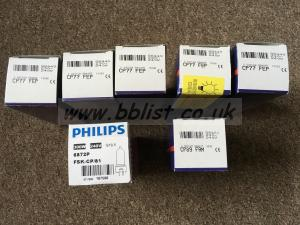 Assorted new bulbs, 1000w, 650w and 300w