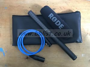 Rode NTG-2 Microphone with Neutrik Cable