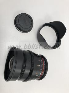 Samyang VDSLR 24mm Prime Lens