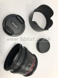 Samyang VDSLR 50mm EF Prime Lens