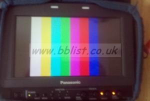 "Panasonic BT-LH80WE 8"" portable HD/SDI monitor Kit"
