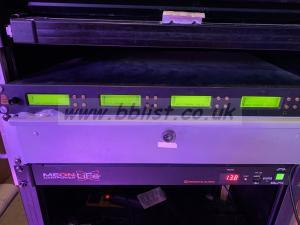 Audio ltd rackmount 4 receivers