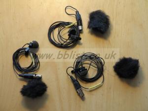 3 X microphones Lavalier VT500