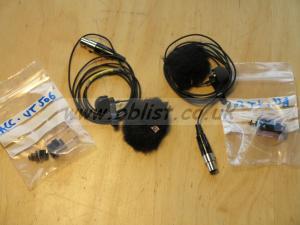 2 X microphones Lavalier VT506