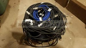 32 XLR Cables, Neutrik ends, High quality cable.