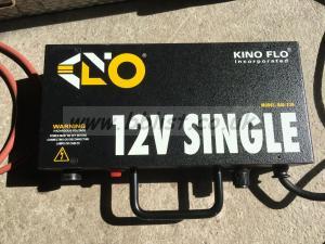 Kino Flo Single 12V Ballast, all Accessoires, AluCase, Tubes