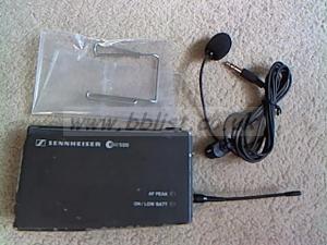 Sennheiser EW500 radio mic  transmitter kit