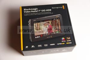 "NEW Blackmagic VideoAssist 7"" 12G HDR"