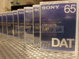 Sony Dat Tape 65 minutes New still in their wrappers X 8