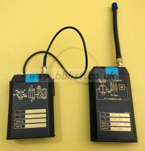 Audio ltd RMS 2000 transmitter / receiver F1 175.4 F2 175.25