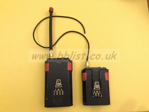 Audio ltd RMS 2000 transmitter / receiver F1 184.4 F2 184.8