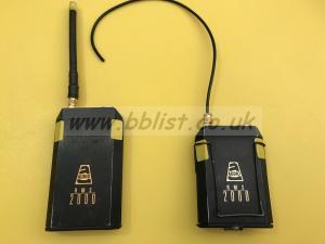 Audio ltd RMS 2000 transmitter / receiver F1 199.7 F2 200.3