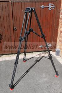 Sachtler Heavy Duty Carbon Fibre Tripod. 100mm Bowl.