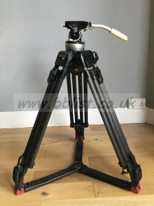 Sachtler HD Carbon Fibre Tripod, Ronford Baker F3 Head 100mm