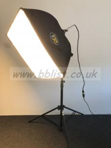 Lowel RIFA-lite LC-66 tungsten softbox light 750W
