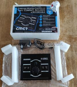 Drawmer CMC7 7.1 Channel Analog Surround Monitor Controller