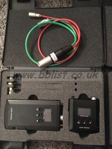 Audio Wireless transmitters & receivers