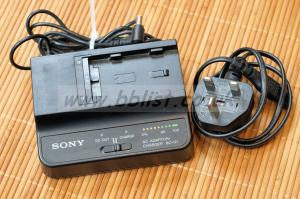 Sony BC-U1 battery charger and PSU